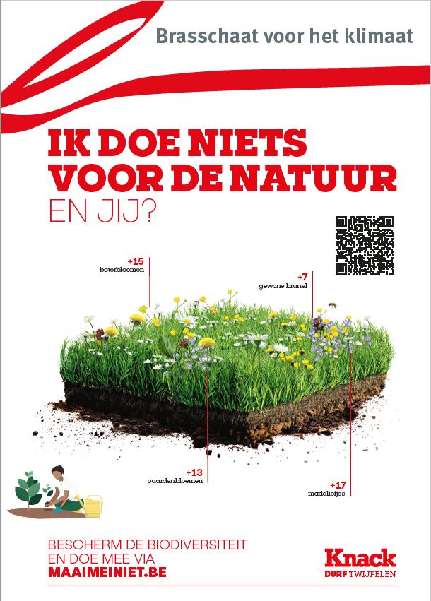 poster Maai mei Niet Brasschaat