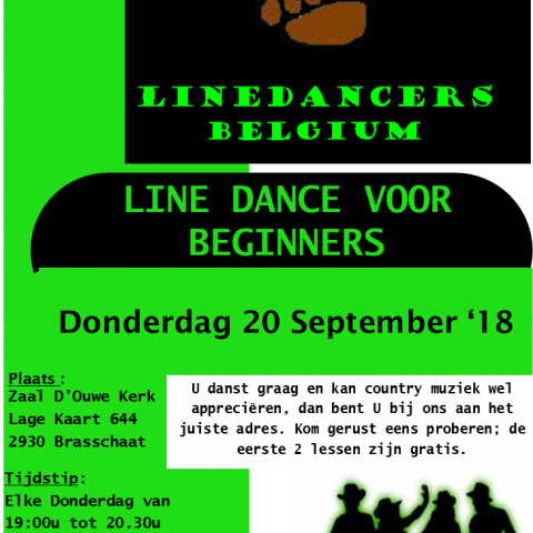 Start cursus line dance voor beginners